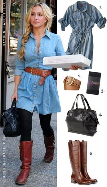 5-cute-denim-dress-outfits-for-spring-5